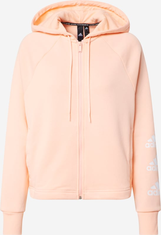 ADIDAS PERFORMANCE Sweatshirt 'Stacked' in Pink   ABOUT YOU