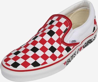 VANS Trampki slip on w kolorze czerwony / czarny / białym, Podgląd produktu