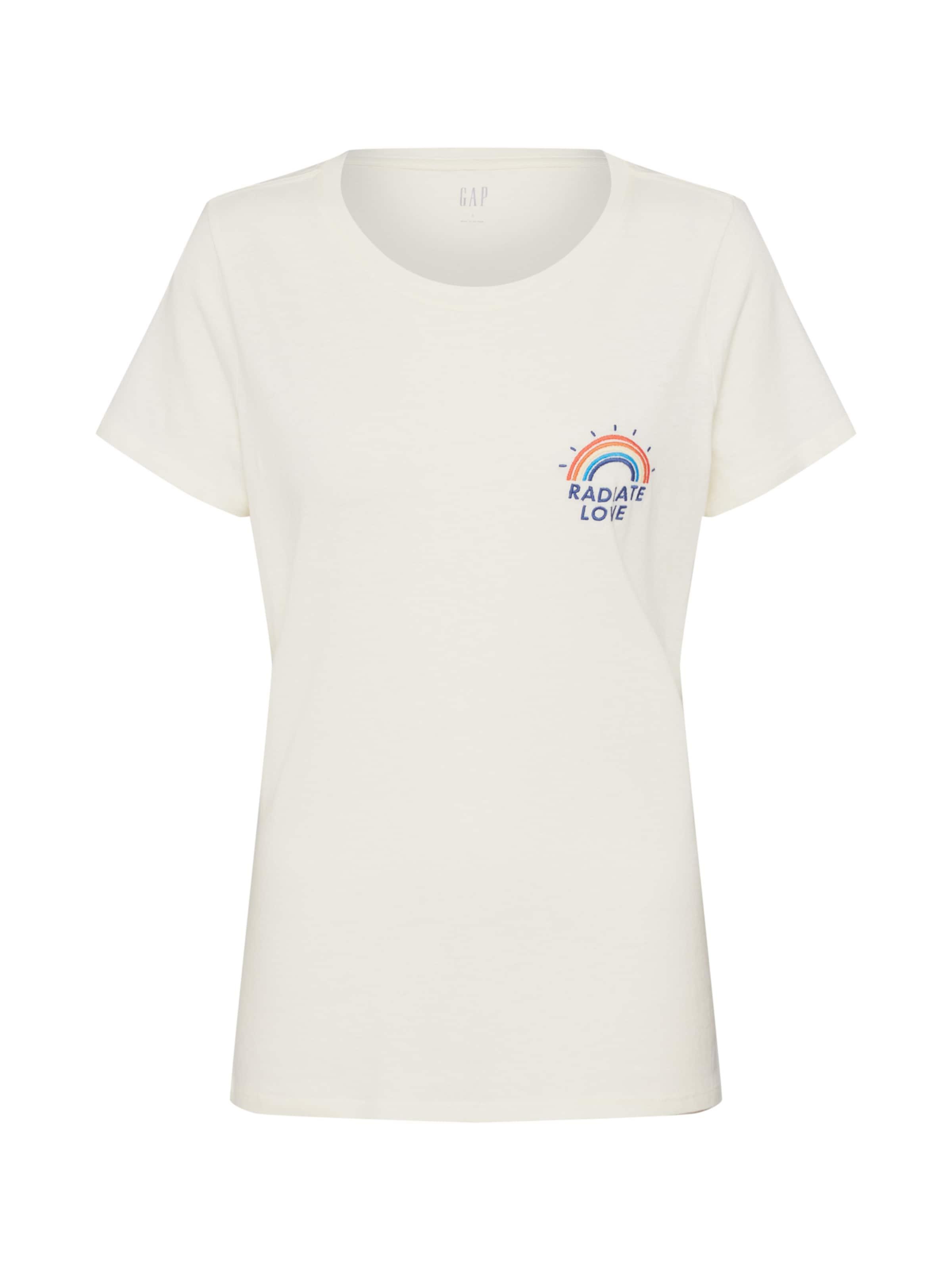 Weiß Gap Shirt Shirt Gap In CxBedor