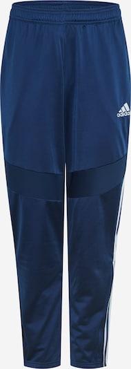 ADIDAS PERFORMANCE Sporthose 'Tiro' in blau / weiß, Produktansicht