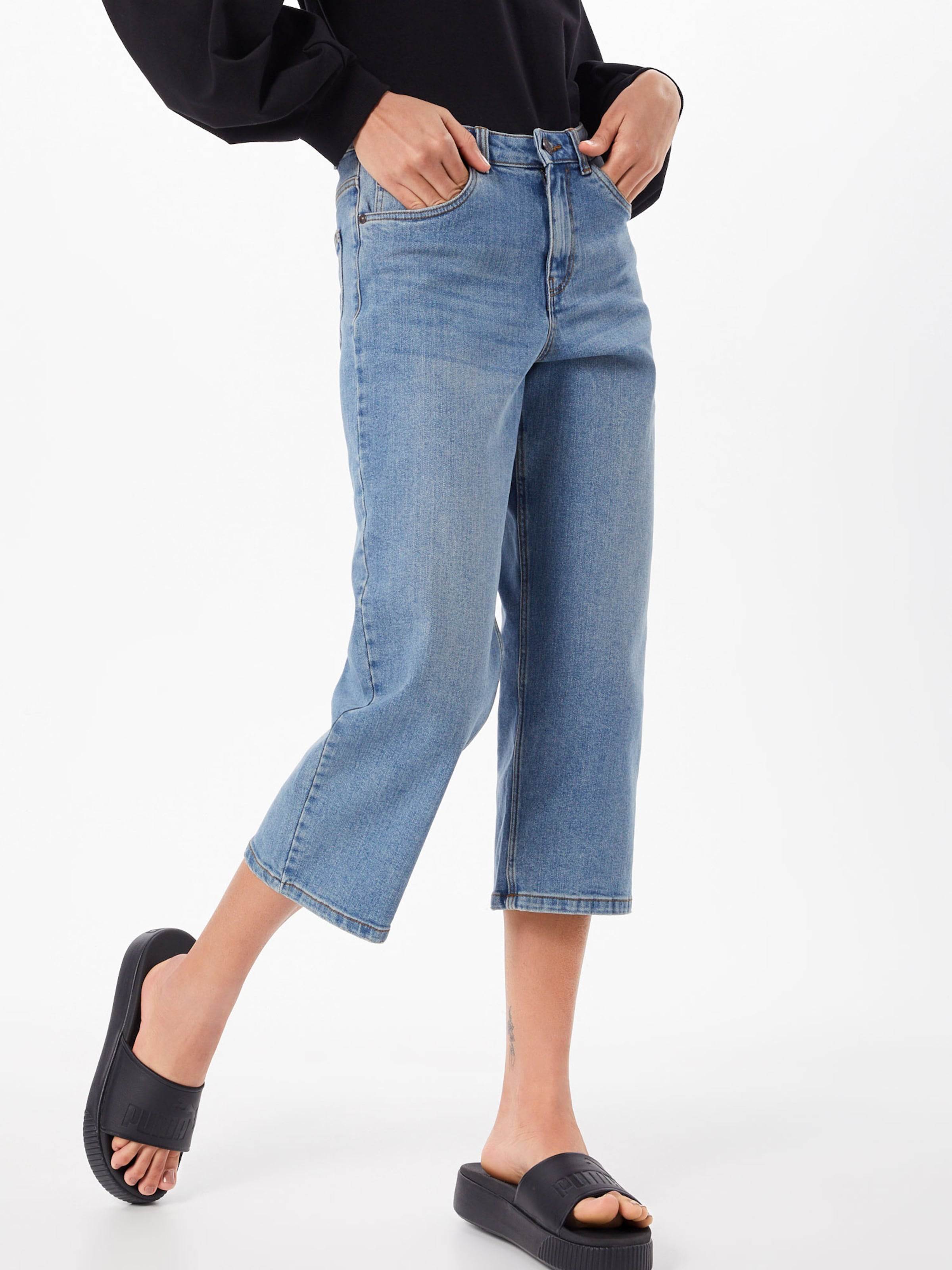 Noisy Jean 'nmpaige Nw Jeans Noos' En May Bleu Loose Denim Crop QrtdshC
