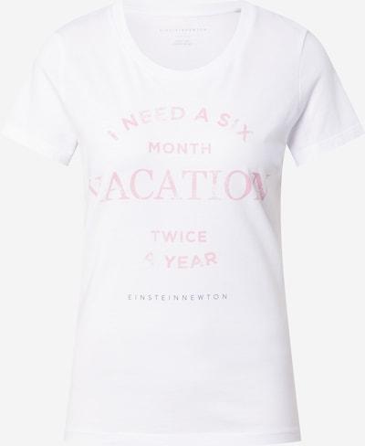EINSTEIN & NEWTON T-Shirt in pastelllila / pastellpink / weiß, Produktansicht