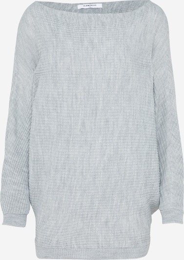 GLAMOROUS Pullover 'LC0295' in hellgrau: Frontalansicht