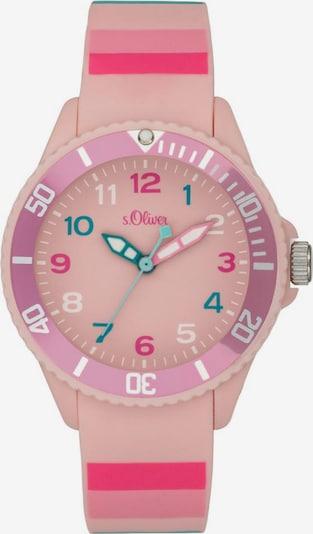 s.Oliver Quarzuhr 'SO-4003-PQ' in pink: Frontalansicht