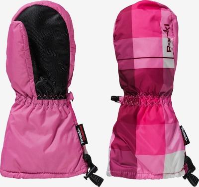 Roeckl SPORTS Handschuhe 'First' in rosa / himbeer / dunkelpink / schwarz / weiß, Produktansicht