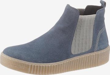 GABOR Chelsea Boots in Blau