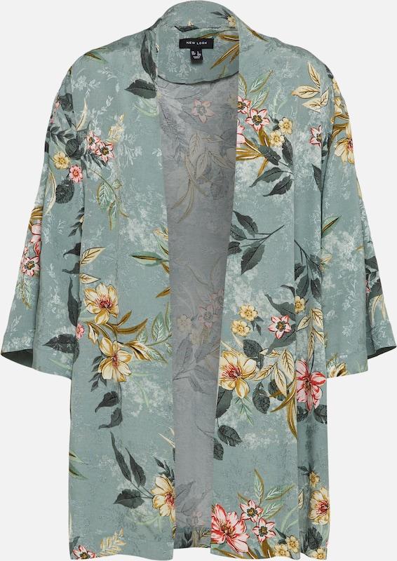 En New Kimono Look Vert BeigeMenthe Rose Foncé 4Lq3jA5R