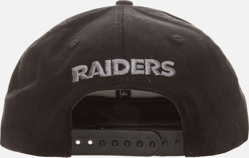 NEW ERA '9FIFTY NFL Black Graphite Oakland Raiders' Cap