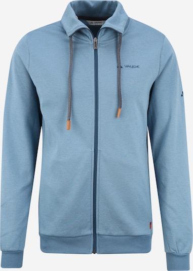 VAUDE Sweatjacke ' Torone' in blau, Produktansicht