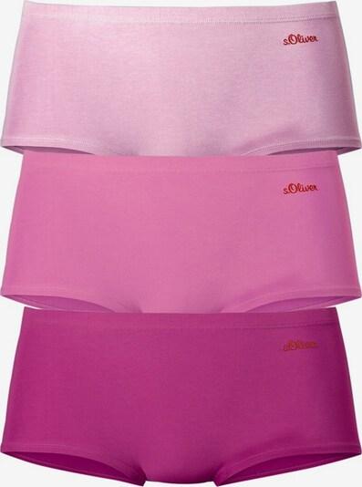 s.Oliver Biksītes pieejami ciklamenu / rožkrāsas / tumši rozā, Preces skats
