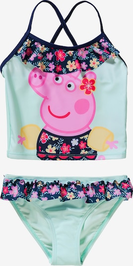 Peppa Pig Tankini 'Peppa Pig' in blau / mischfarben, Produktansicht