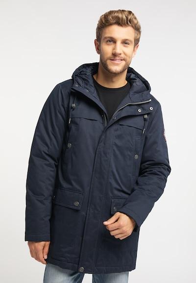 MO Wintermantel in navy, Modelansicht