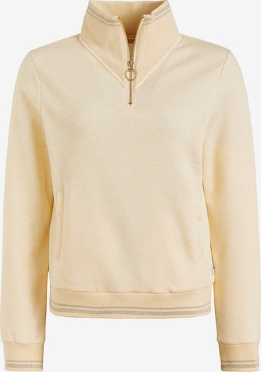 khujo Sweatshirt ' ARWA ' in pastellgelb, Produktansicht