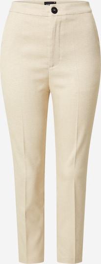 Gina Tricot Pantalon à plis 'Karin' en beige, Vue avec produit