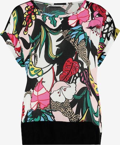 Loom&Lace Blusenshirt in grün / pink / schwarz / weiß, Produktansicht