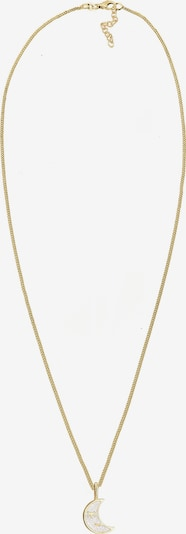 ELLI Kette 'Astro, Halbmond' in gold, Produktansicht