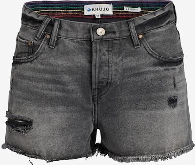 khujo Jeans 'Ulina' in de kleur Basaltgrijs, Productweergave