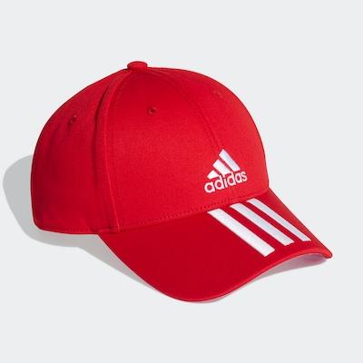 ADIDAS PERFORMANCE Sportcap in rot / weiß, Produktansicht