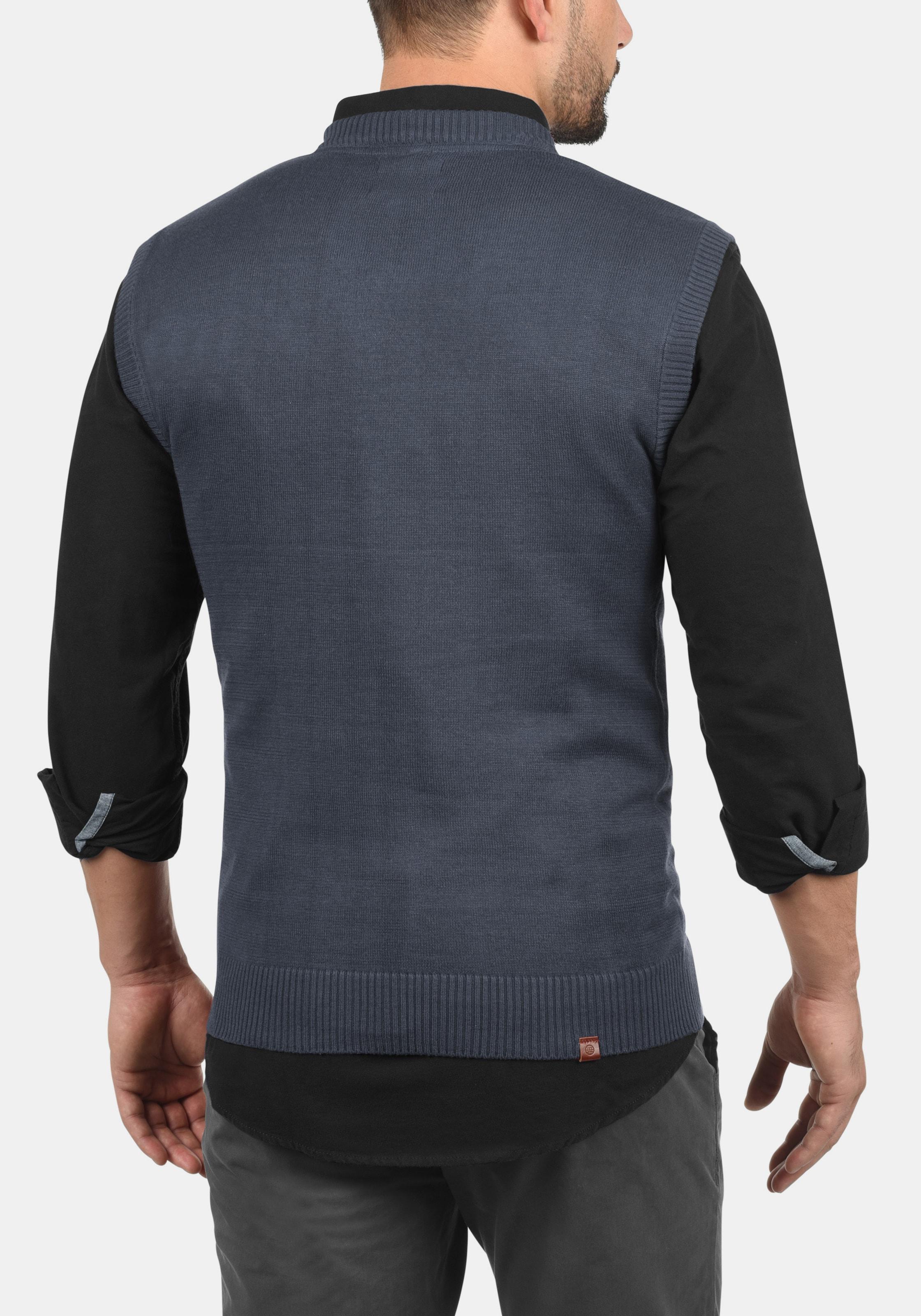 Blend pullover In V ausschnitt BlauDunkelblau 'larsson' ynO8vN0wmP