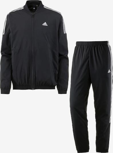 ADIDAS PERFORMANCE Trainingsanzug 'Woven Light' in schwarz / weiß, Produktansicht