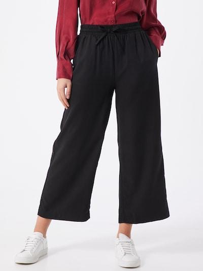 OBJECT Pantalon 'OBJTILDA TALULA' en noir, Vue avec modèle
