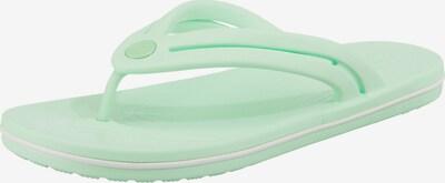 Crocs Crocband Flip W Zehentrenner in grün, Produktansicht
