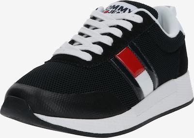 Tommy Jeans Sneakers laag in de kleur Rood / Zwart / Wit, Productweergave