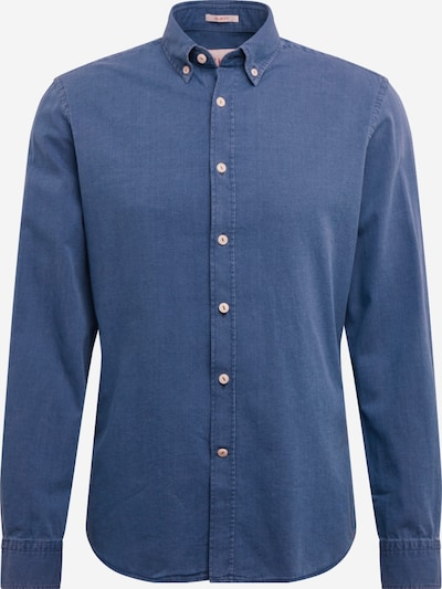 HKT by HACKETT Hemd 'HKT INDIGO TEXTURE' in blue denim, Produktansicht