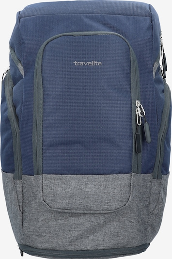 TRAVELITE Rucksack 'Basics' in blau / grau, Produktansicht