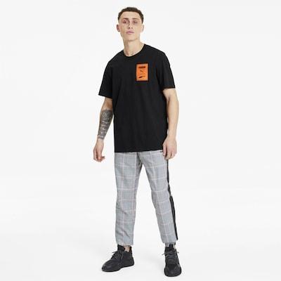 PUMA T-Shirt in schwarz: Frontalansicht