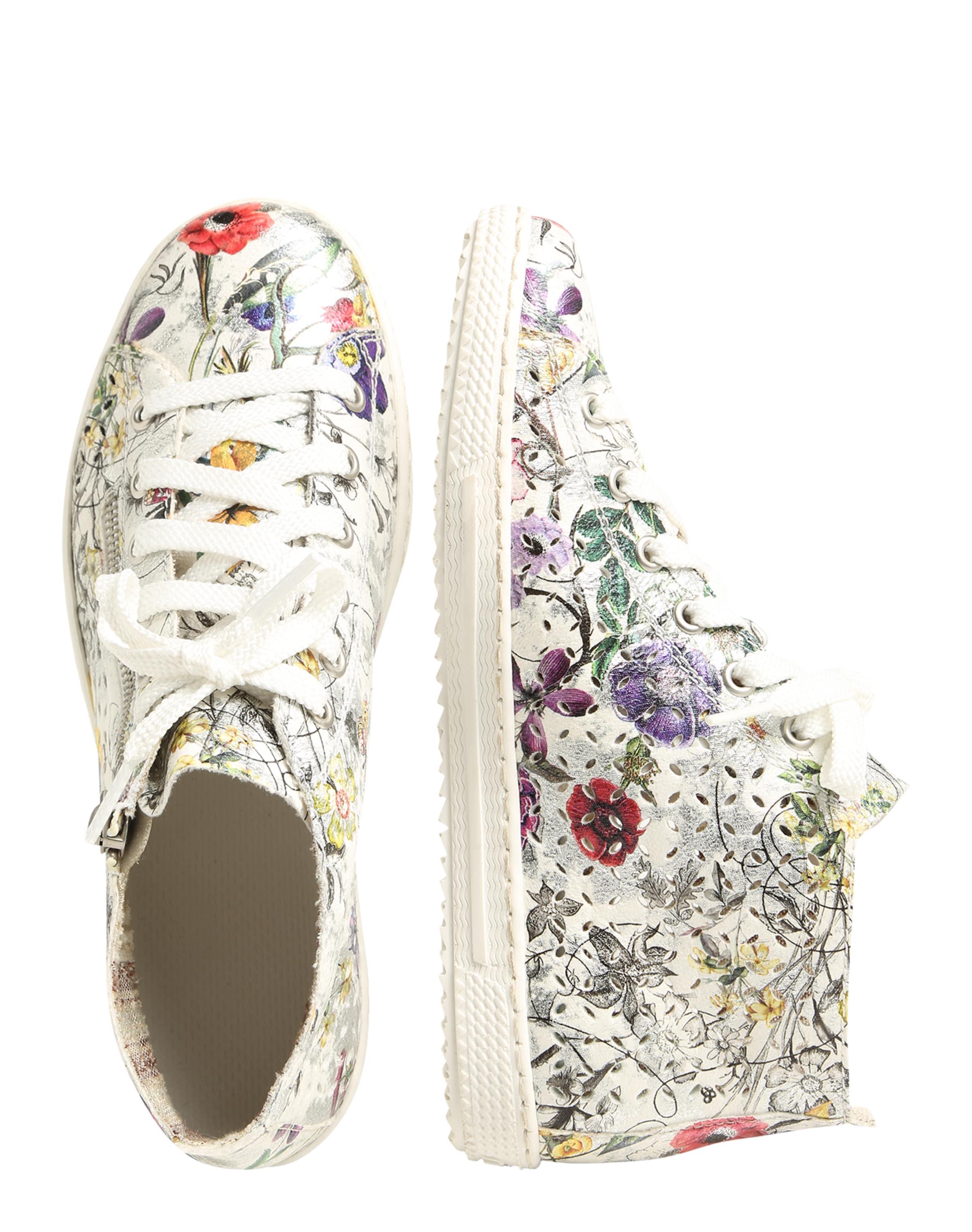 RIEKER Sneaker mit floralem Print Spielraum Klassisch Billig Erstaunlicher Preis w3xL7N