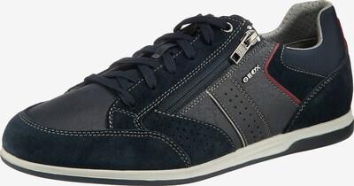 GEOX Sneaker 'U Renan' in navy / rot, Produktansicht