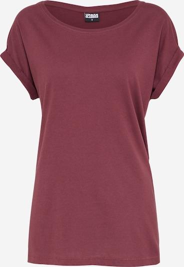 Urban Classics Shirt in kirschrot, Produktansicht
