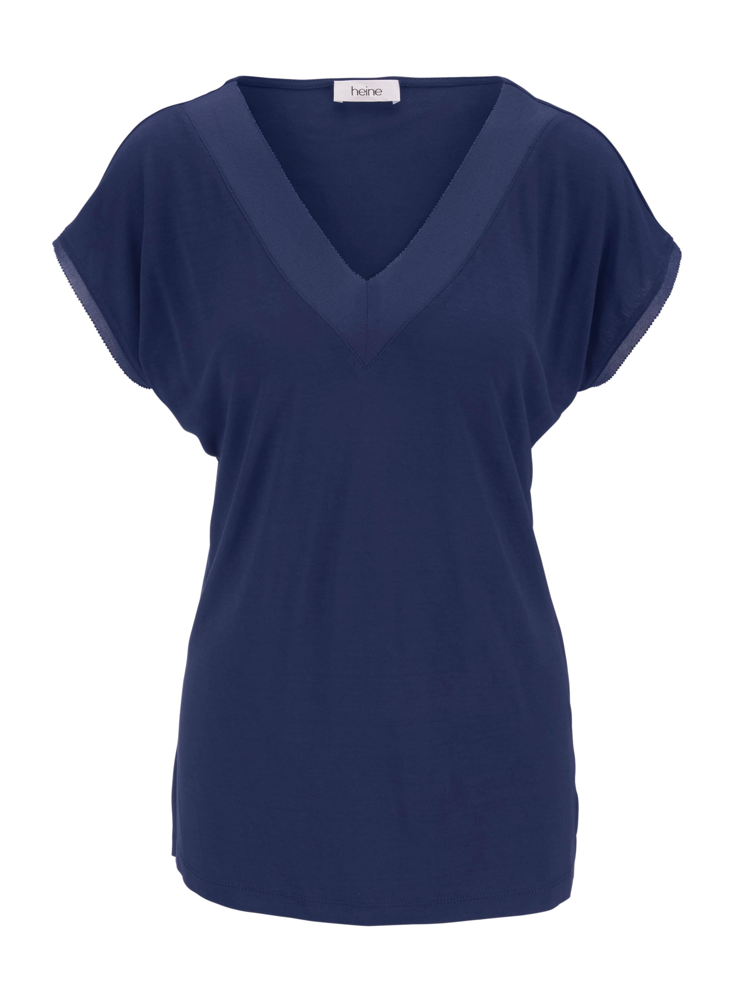MarineDonkerblauw MarineDonkerblauw Shirt In Heine In Heine Shirt sQCthxodrB