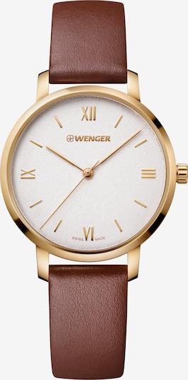WENGER Uhr 'Metropolitan Donnissima' in braun / gold, Produktansicht