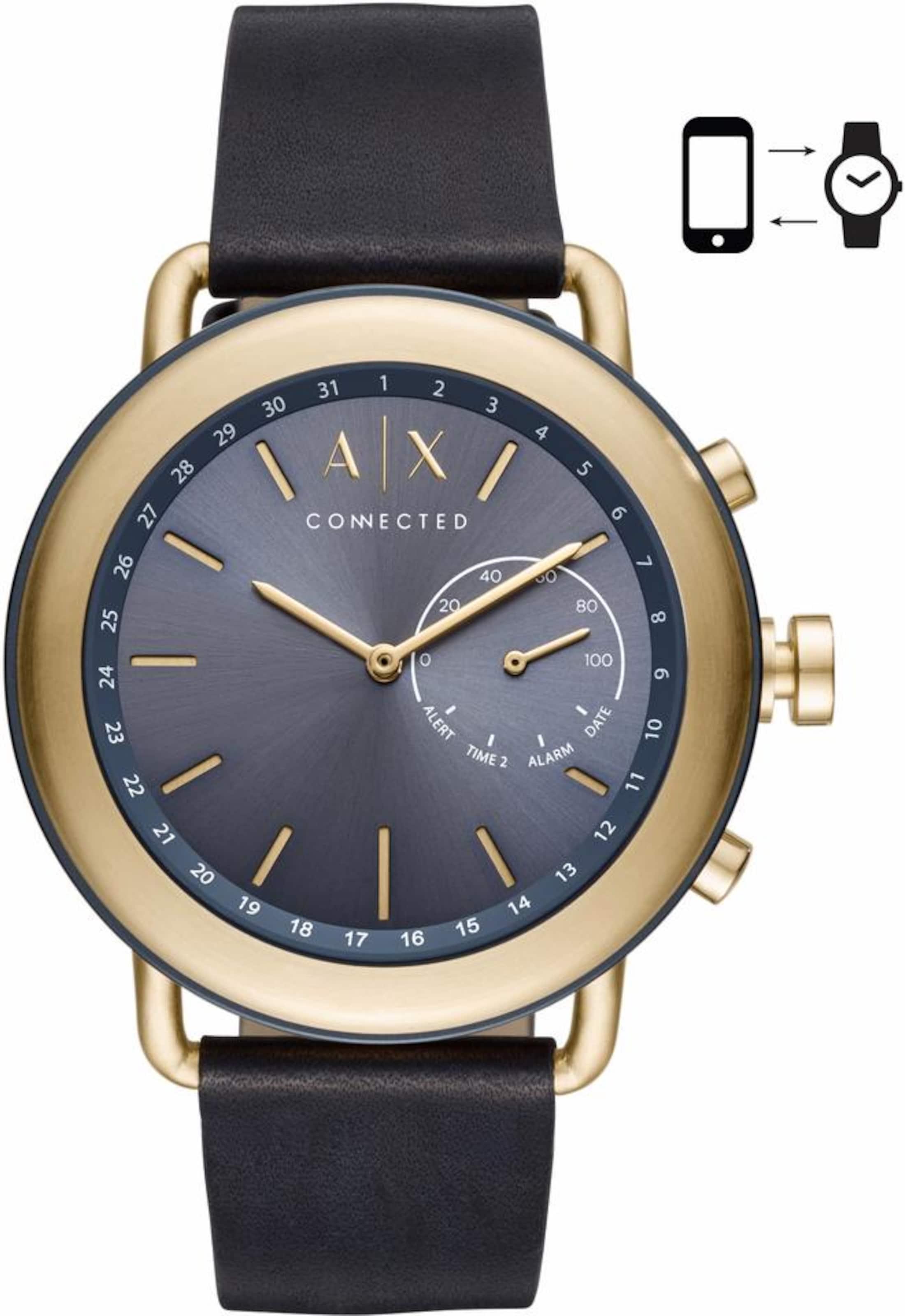 Armani Exchange Connected AXT1023 Smartwatch (Android Wear) Billig Verkauf Erschwinglich Mit Paypal Günstigem Preis 3Z0vcV8