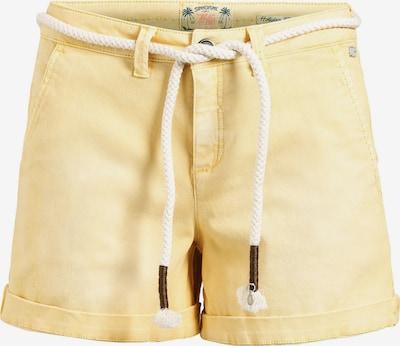 khujo Hose 'MARIANNE' in gelb / pastellgelb, Produktansicht