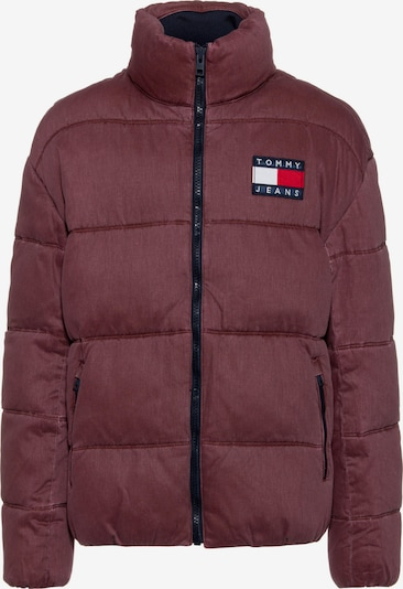 Tommy Jeans Steppjacke ' Thermo ' in dunkelrot, Produktansicht