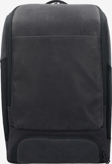 SALZEN Rucksack 'Alpha' in schwarz, Produktansicht
