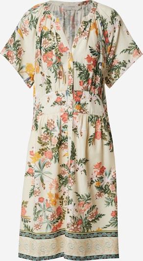 Cream Obleka 'Jeanetta' | kremna / limona / bela barva, Prikaz izdelka