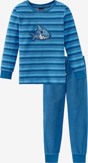 SCHIESSER Schlafanzug in blau, Produktansicht
