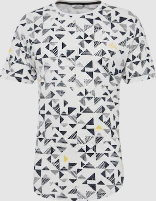Only & Sons Shirt 'GENE SS AOP TEE RE' in Zwart / Wit