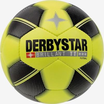 DERBYSTAR Ball 'Brillant TT' in gelb / rot / schwarz / silber / weiß, Produktansicht