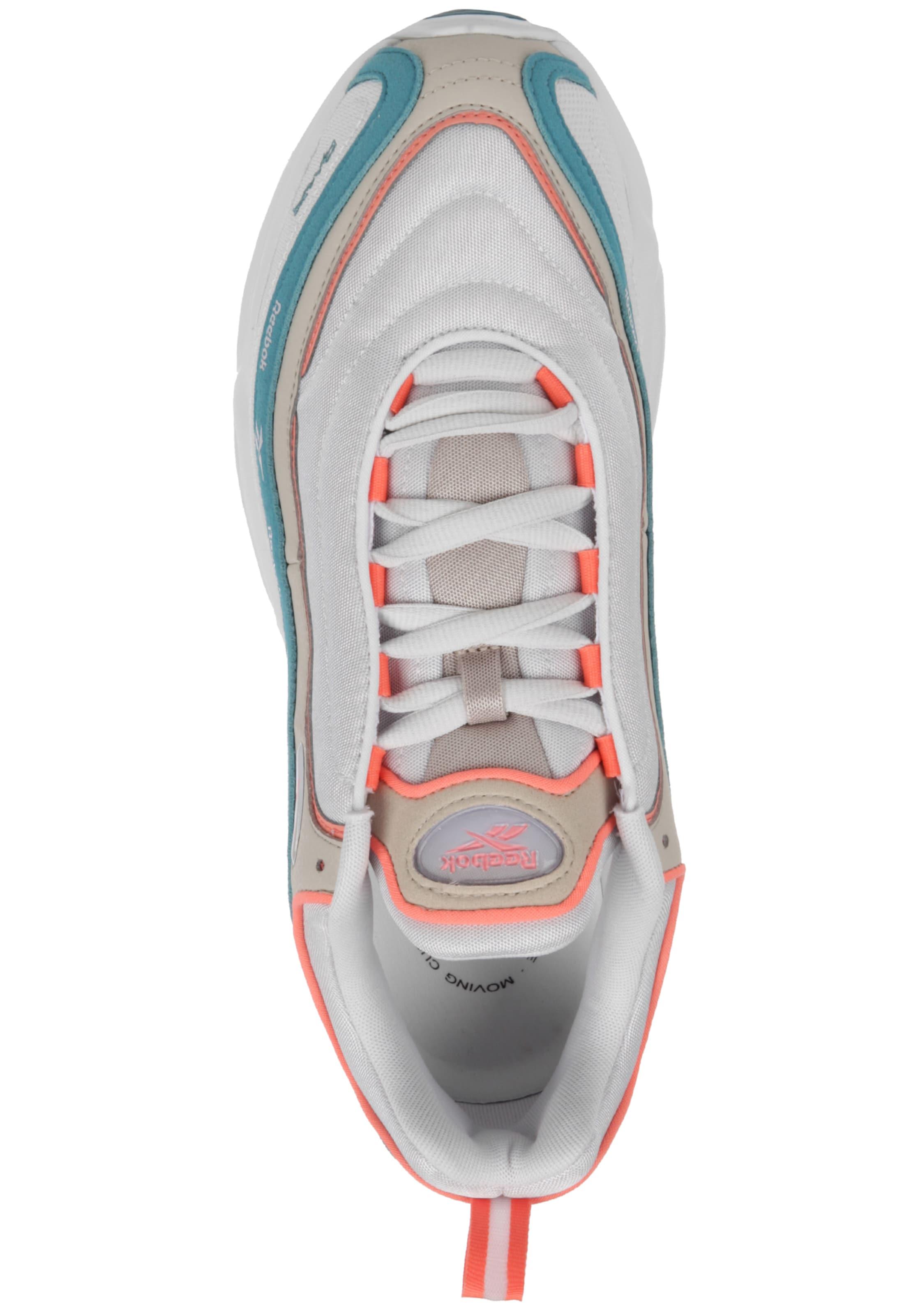 Reebok Mu' Weiß 'daytona Dmx Sneaker PetrolNeonorange Classic In lKJ1FcT