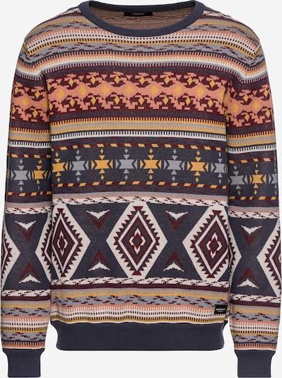 Megztinis 'Indio Knit' iš Iriedaily , spalva - mėlyna / geltona / pastelinė raudona, Prekių apžvalga