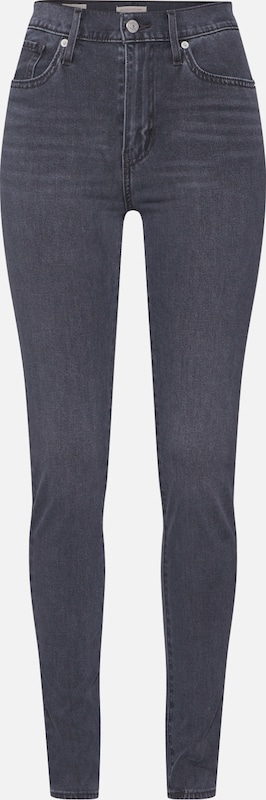 LEVI'S Jeans 'MILE HIGH' in de kleur Grey denim, Productweergave