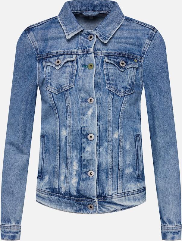 En saison Veste Pepe Jeans Bleu Mi 'thrift' f7yY6bg
