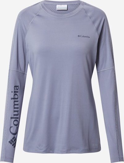 COLUMBIA Funkcionalna majica | marine / golobje modra barva, Prikaz izdelka