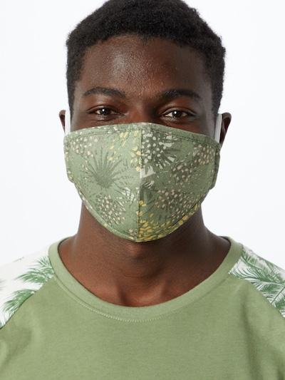 Iriedaily Stoffmaske 'Funkadelic' in oliv: Frontalansicht