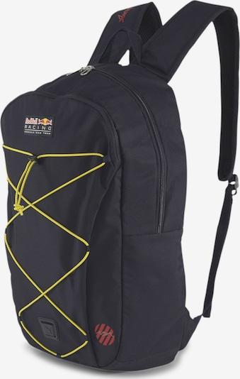 PUMA Rucksack 'Racing World Hood' in gelb / rot / schwarz, Produktansicht